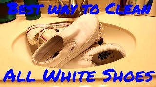 Today Teej will show off the most effective way to clean any white shoes. He will be using vans and converse in this video to show off the method. Buy Angelus Easy Cleaner here: https://angelusdirect.com/products/easy-cleanerLike, Comment, Subscribe and Share!