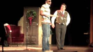 David Boyd interrupts Kevi Meaney's Christmas Show in Tarrytown, New York ala Kanye West.