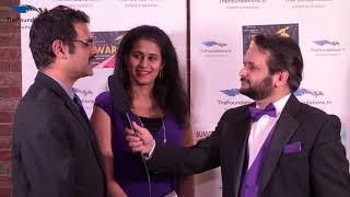 Niraj Jetly talks to Jaya ad Saji on the FTV Red Carpet