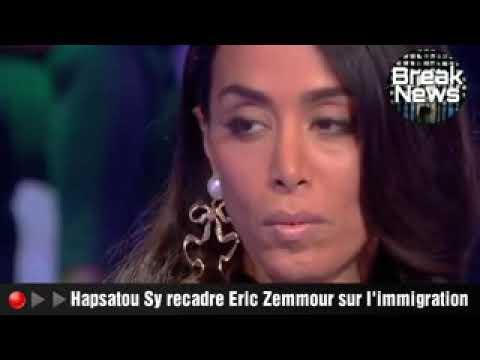Hapsatou Sy recadre Éric zemmour