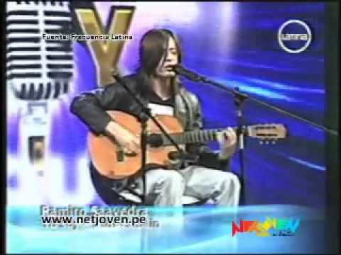 video que muestra a un peruano que canta igual que kurt cobain