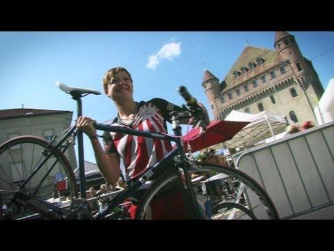 Cycle Messenger World Championship 2014 LAUSANNE - Les courses