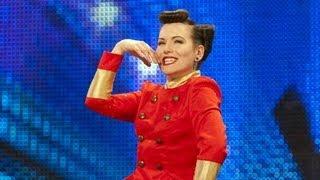 Beatrix Von Bourbon burlesque show - Britain's Got Talent 2012 audition - International version