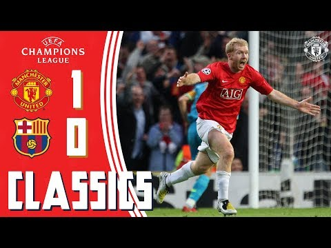 Champions League Classic | Manchester United 1-0 Barcelona (2008) | Semi-Final 2nd Leg | UCL Draw