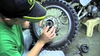 10. Honda XR70 Wheel