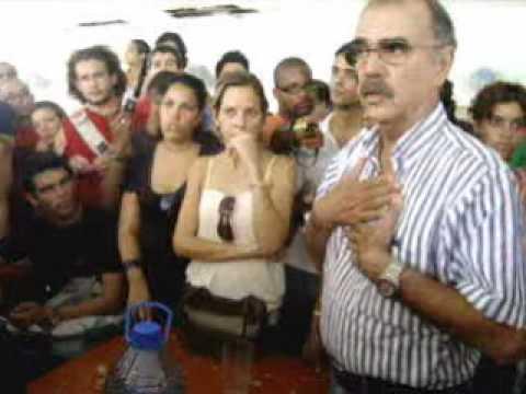 Lo que no se vió de la protesta de estudiantes en el ISA Habana 22/10/09