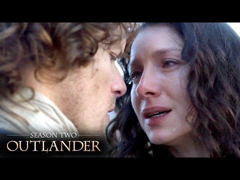 Jamie Says A Final Goodbye To Claire | Outlander