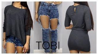 Tobi Clothing Haul&Try On!