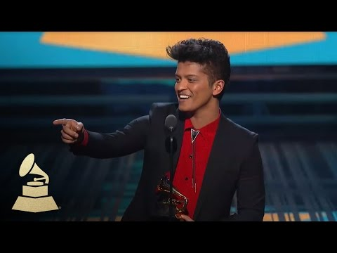 Bruno Mars Wins Best Pop Vocal Album