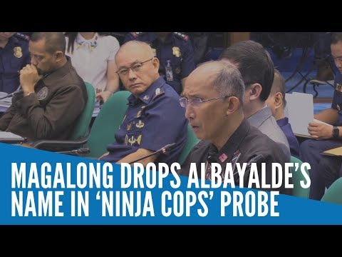 Magalong drops Albayalde's name in 'ninja cops' probe