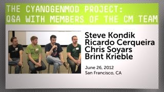 The CyanogenMod Project: Q&A with members from the CM Team