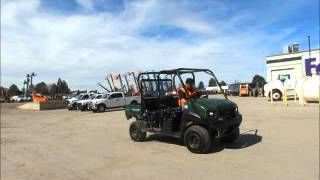4. For Sale 2011 Kawasaki Mule 4010 4WD Diesel Utility Golf Cart UTV bidadoo.com