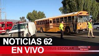 Accidente en autobús escolar en Lake Elsinore – Noticias 62 - Thumbnail