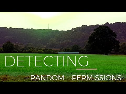 Garrett Ace 400i - Detecting Random Permissions 1 - 18th & 19th C coins (#8)