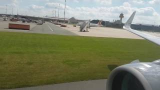 Medical emergency on board + high speed taxiing