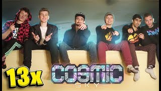 The Pack Helps Me Make An Auto-Grinder For $10,000 Steak - Minecraft Cosmic Sky #13