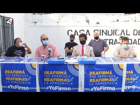 El edil del Partido Colorado de Paysandú y sus suplentes firmaron para impulsar referéndum contra la LUC