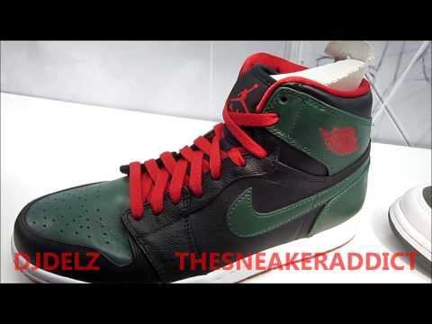 2012 Air Jordan Gucci Retro 1 Sneaker Review With @DjDelz