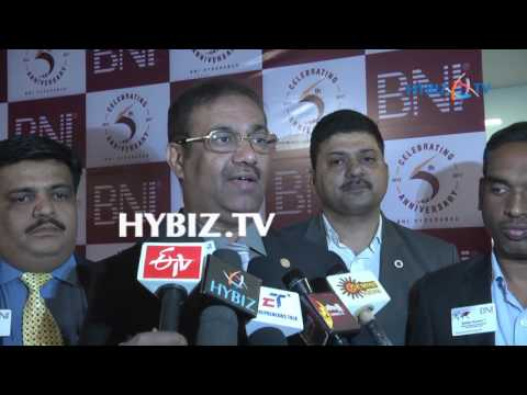 Bharat Shah-5th Anniversary of BNI Hyderabad