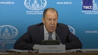 "Лавров: РФ направила запрос в секретариат ООН по поводу НПО ""Белые каски"""