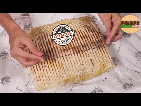 [INSOLITE] GIGATACOS CHALLENGE INCROYABLE !! - Studio Bubble Tea Food challenge O'Tacos