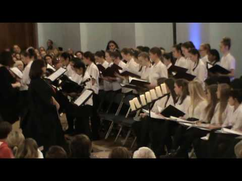 Music I Love  - Middle School Choir, Ceremony of Carols 2016
