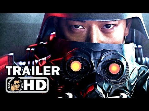 JIN-ROH: THE WOLF BRIGADE Trailer (2018) Sci-Fi Action