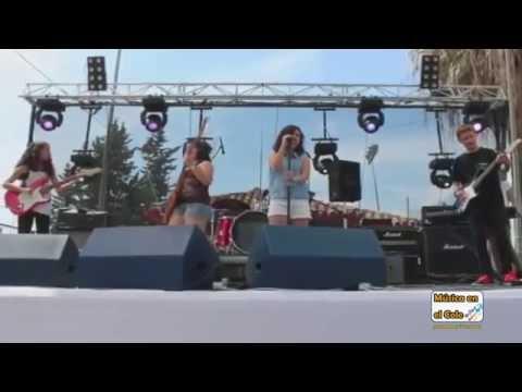 """Concierto de """"The Rockids"""" en el Festival San Pedro Rock 2015"""