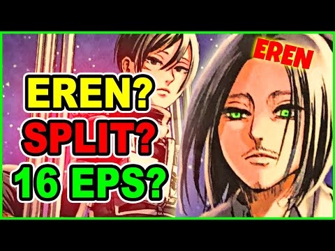 Where is Eren? Why Attack on Titan Season 4 Is NOT in Trouble   AOT Anime Mappa Showcase