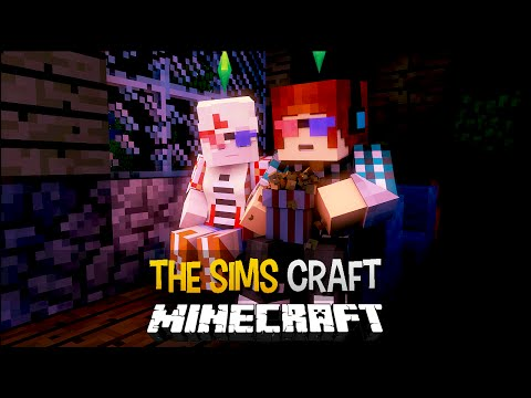 Minecraft: The Sims Craft Ep.91 - Cinema Em Familia !! ( Filme Terror,Romance,Faroeste0