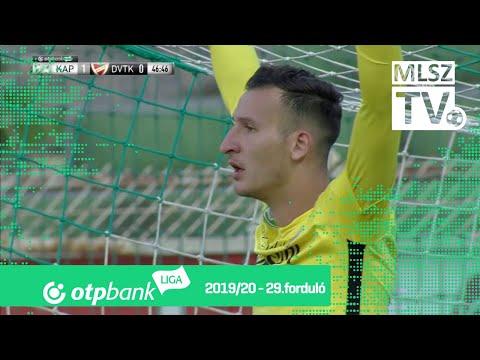 29. forduló: Kaposvár - DVTK 3-0 (1-0)