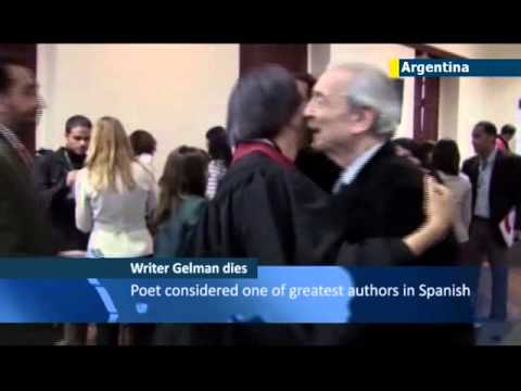 Argentina Mourns Gelman: Celebrated poet and human rights activist Juan Gelman dies aged 83