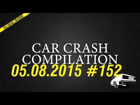 Car crash compilation #152 | Подборка аварий 05.08.2015