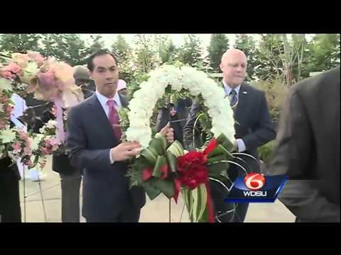 Wreath laying ceremony marks 9th anniversary of Hurricane Katrina