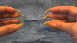 ASMR :: Long Natural Nails Flicking Sounds