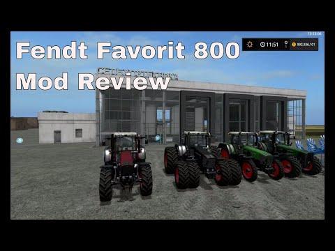 Fendt Favorit 800 Official Final v3.1
