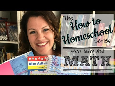 HOW TO HOMESCHOOL MATH: Don't Miss This Fun Series!