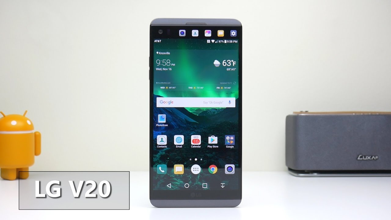 LG V20 From AT&T Review, the V Series Keeps Getting Better