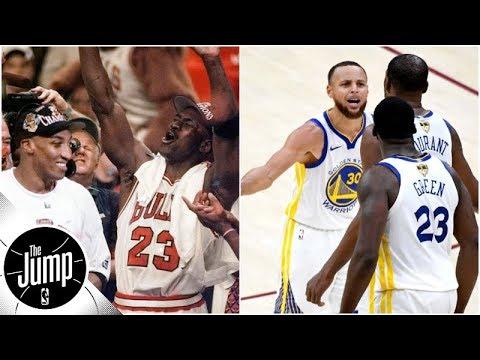 Are 2018/19 Warriors better than 1996 Bulls?   The Jump   ESPN