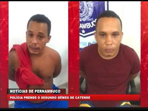 [BRASIL URGENTE PE] Polícia prende o segundo gêmeo de Catende