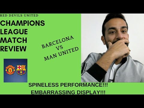 Old Trafford needs a facelift | Barcelona 3-0 Manchester United | Champions League Reaction