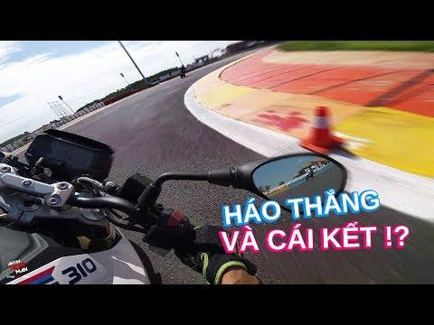 Háo thắng khi test ride BMW G310R trong trường đua và cái kết - Thời lượng: 15 phút.