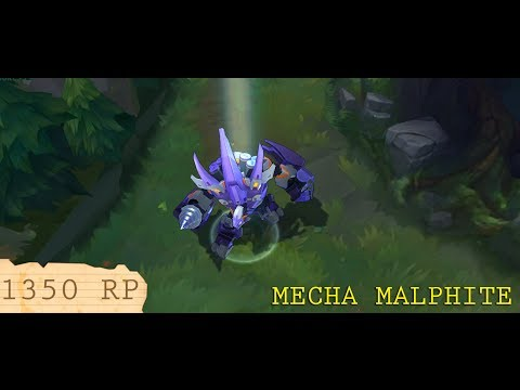 Mecha Malphite Preview (видео)