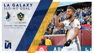 Giovani dos Santos opens the scoring against Minnesota United with a brilliant finish Want to see more from the LA Galaxy?