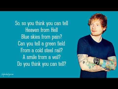 Ed Sheeran - Wish You Were Here (Lyrics)