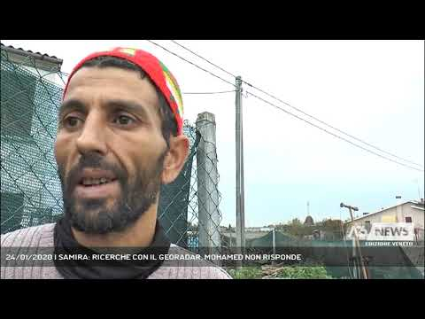 24/01/2020   SAMIRA: RICERCHE CON IL GEORADAR, MOHAMED NON RISPONDE