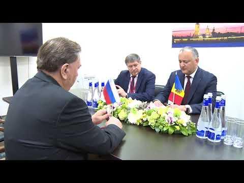Președintele Republicii Moldova a avut o întrevedere cu guvernatorul regiunii Kursk