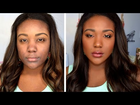 HOW TO: Makeup Tips For Black Women – Everyday Makeup Tutorial Routine for Dark Skin