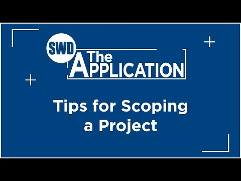 The Application: Interview w/John Thompson Part 3 (Tips for Scoping a Project)