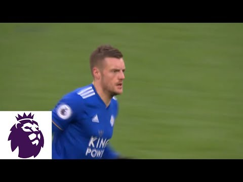 Video: Jamie Vardy's tap-in cuts into Leicester's deficit against Tottenham | Premier League | NBC Sports